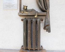 Памятник кошке в самаре цены на памятники в ростове павлодаре