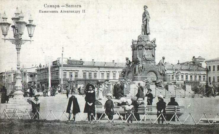 Памятник Александру II. Источник